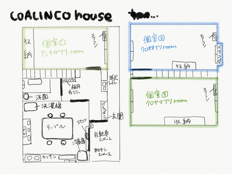 香川県高松市シェアハウス